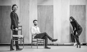 Pinterest: with Tom Hiddleston and Charlie Cox in rehearsal for Betrayal.