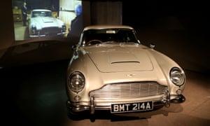 London Film Museum's Bond in Motion exhibition.