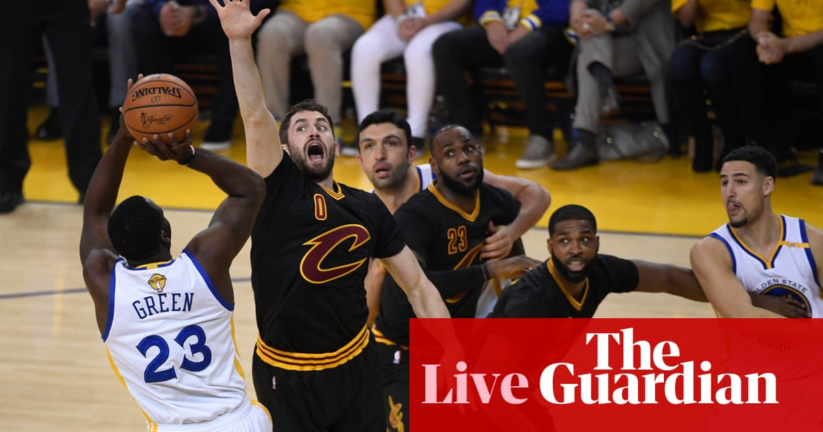 7793b2dae002 NBA finals Game 2  Cleveland Cavaliers 113-132 Golden State Warriors – as  it happened