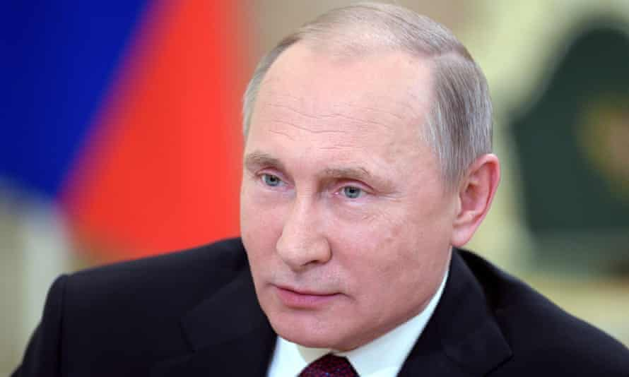 Senior US officials quoted by NBC say they have a 'high level of confidence' that Putin directed the hacking operation against the US Democrats