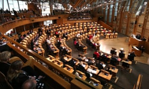 The Scottish parliament at Holyrood