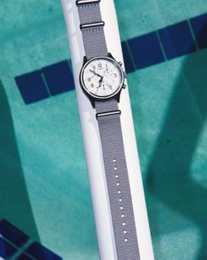 MK1 Aluminium Chronograph, £109.99, TimexA must for minimalists