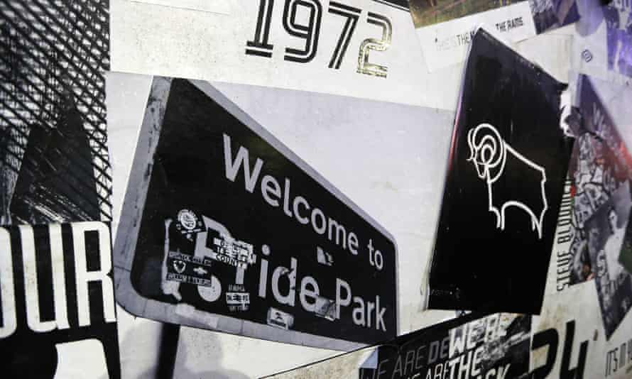 Derby won the first of their two top-flight titles in 1972. They are battling to stay in the Championship this season.