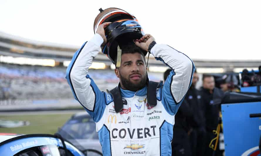 Bubba Wallace said 'quarantine life is rough' after Sunday's race