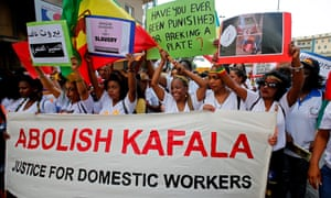 The widely-used Kafala system leaves migrant domestic workers vulnerable to abuse.