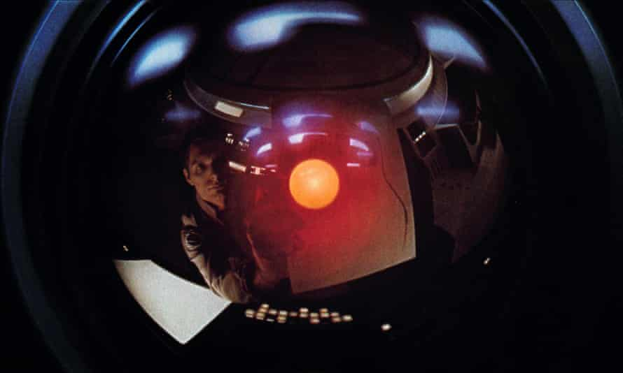 Science fiction, still: Hal in 2001: A Space Odyssey.