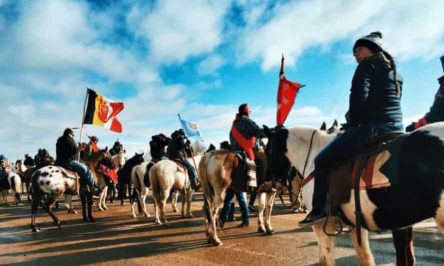 native american north dakota pipeline