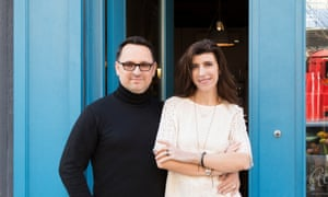 Love, but not at first sight: Christophe Cervasel and Sylvie Ganter of Atelier Cologne.