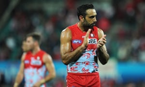 AFL great Adam Goodes is being booed across Australia  How