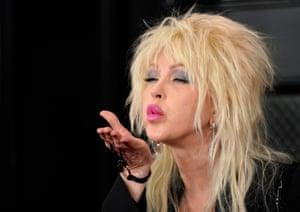 Cyndi Lauper attends 62nd annual Grammy Awards.
