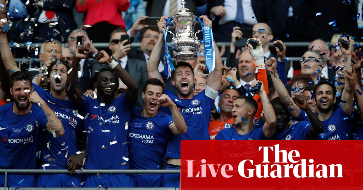 9b6b718fe Chelsea 1-0 Manchester United  2018 FA Cup final – as it happened ...