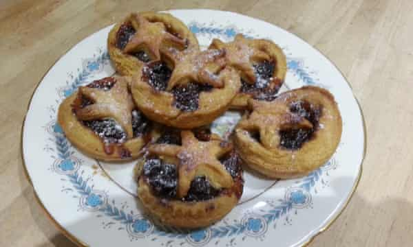 Rachel Murphy made these mince pies to her mother's recipe.
