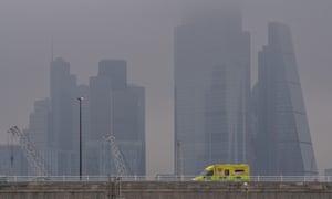 Mist over London