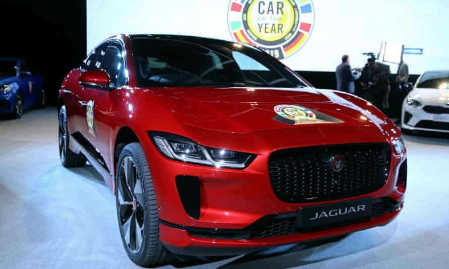 Jaguar I-Pace car