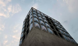 The exterior of the Zeitz Museum of Contemporary African Art in Cape Town