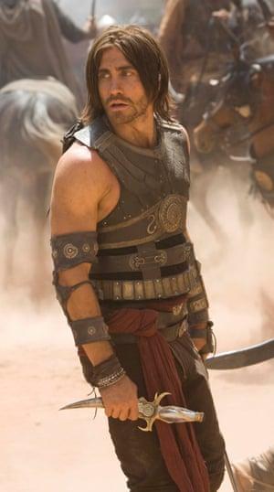 Jake Gyllenhaal in Prince of Persia.
