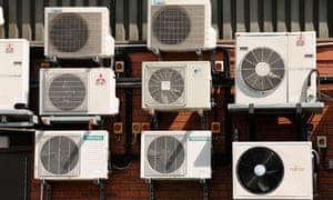 Climate change is likely to see an increased reliance on air conditioners in southern Europe.