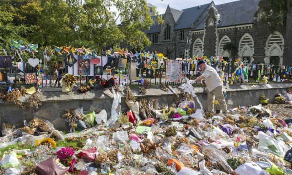 Thousands of tributes, flowers, messages and mementoes left in the wake of the 15 March Christchurch mosque shootings that left 50 dead in New Zealand.