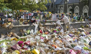 Tributes after the mosque shootings in Christchurch