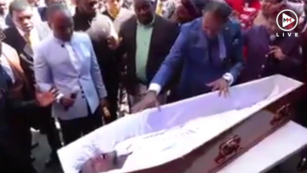 Resurrection Challenge – South Africans mock pastor on social media for  'resurrection stunt' – video