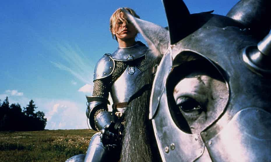 Milla Jovovich in Luc Besson's 1999 film, The Messenger: The Story of Joan of Arc.