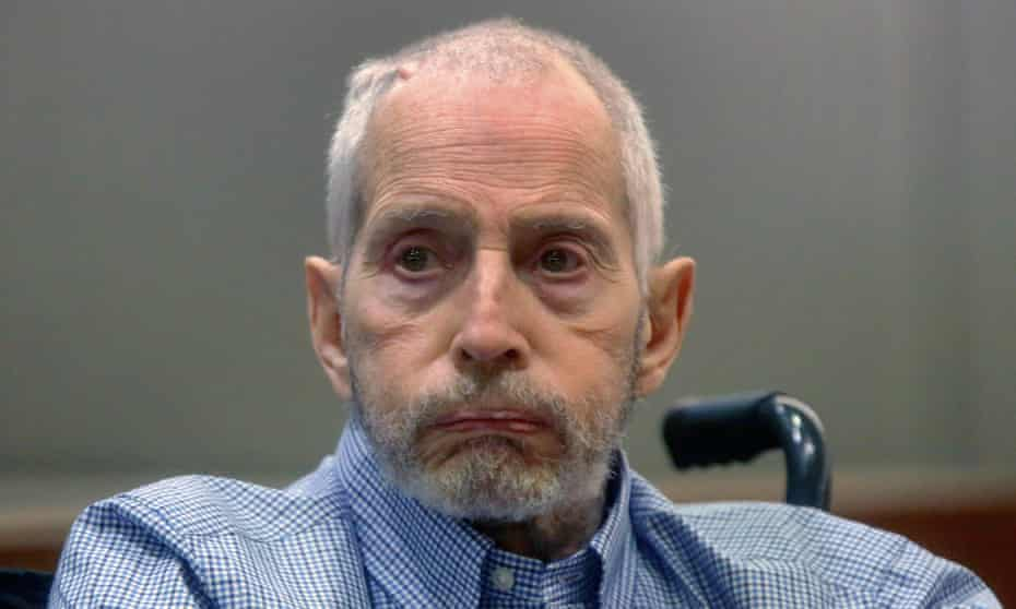 Robert Durst at a 2017 court hearing in Los Angeles.