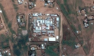 Satellite image of Jail Ogaden, officially known as Jijiga central prison, in Ethiopia's eastern Somali region