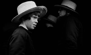 Runner up, People category, An Amish boy faces his future