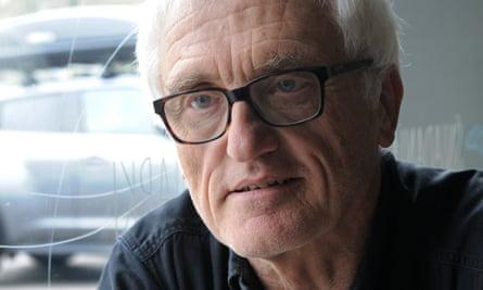 Princeton professor Jan Tomasz Gross speaks in Warsaw on Wednesday.