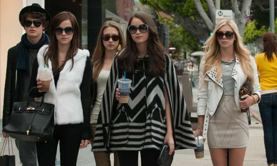 Israel Broussard, Emma Watson, Taissa Farmiga, Katie Chang & Claire Julien in The Bling Ring.