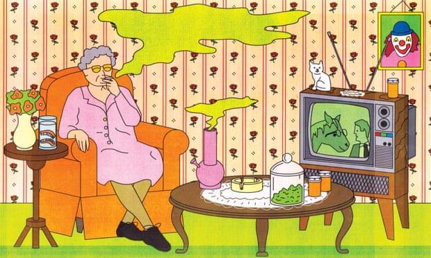 Why are so many seniors smoking weed?