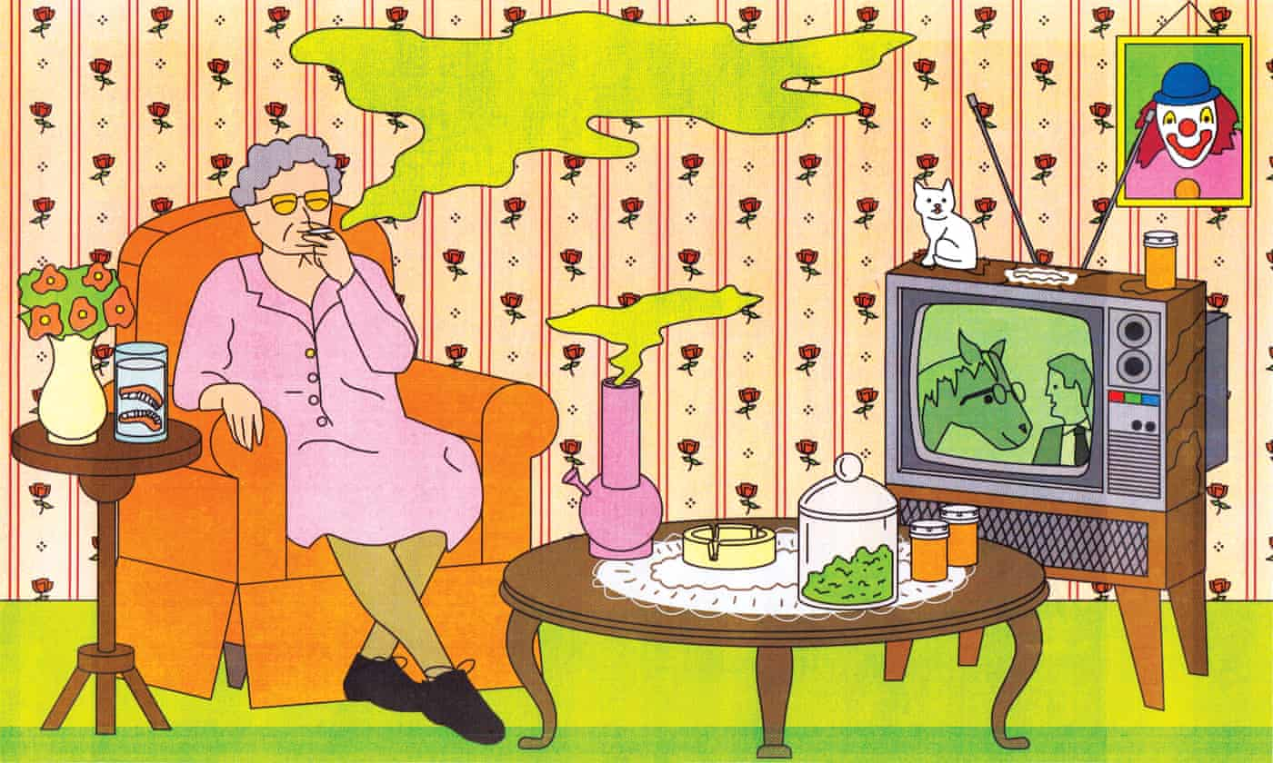 The mature stoner: why are so many seniors smoking weed?