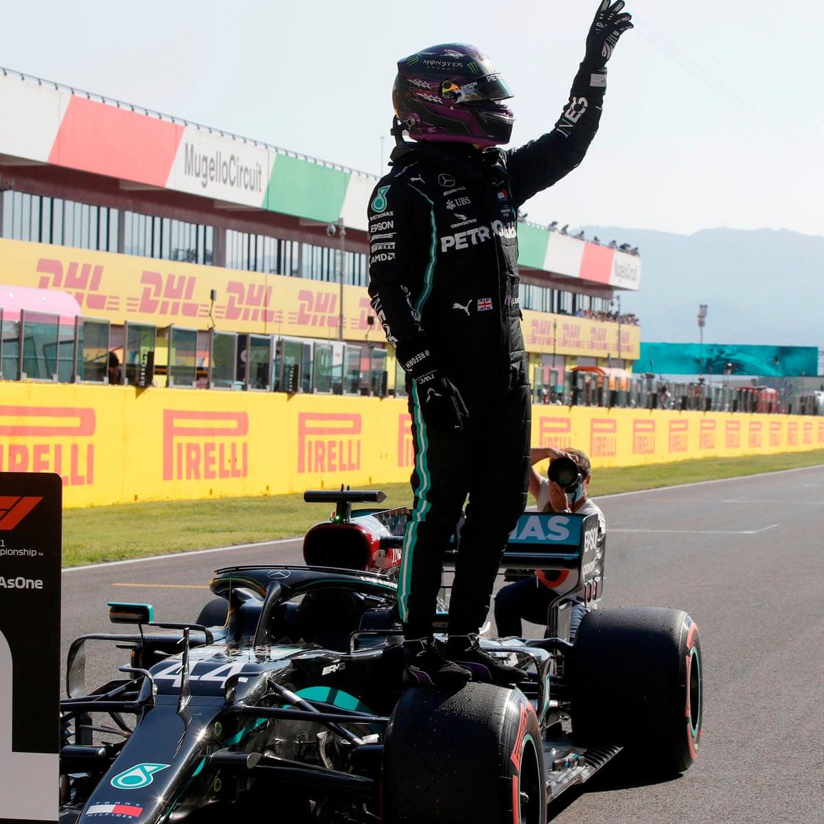 Lewis Hamilton Dominates Qualifying Again To Take Tuscan F1 Gp Pole Formula One The Guardian