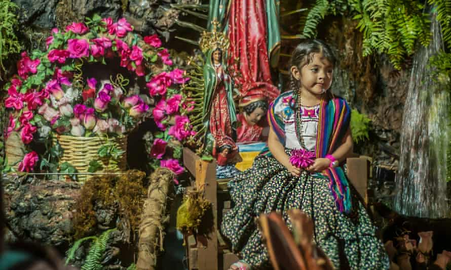 Christmas celebrations in Oaxaca, Mexico.