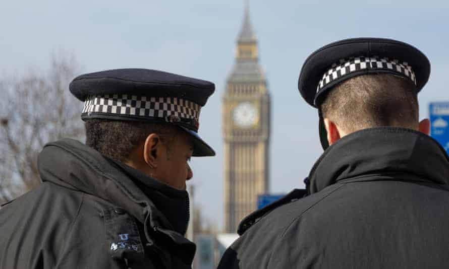 Two London Metropolitan police Officers