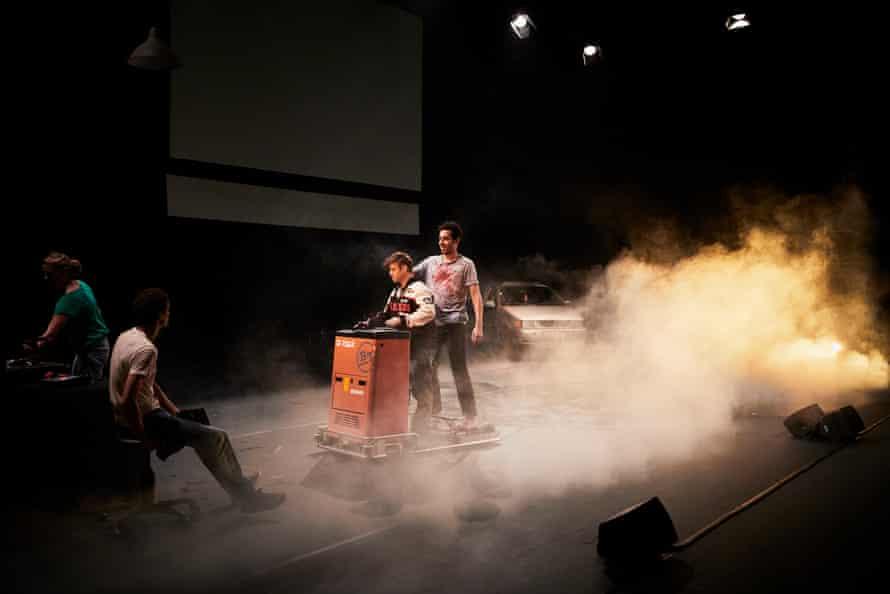 Milo Rau's La Reprise, Histoire(s) du Theatre