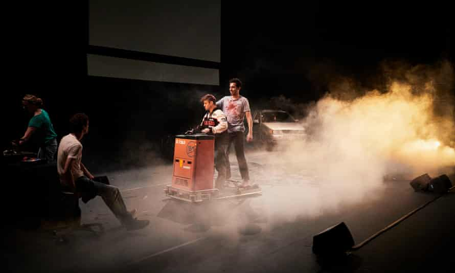 Milo Rau's La Reprise – 'crystalline, engaging and compelling'.
