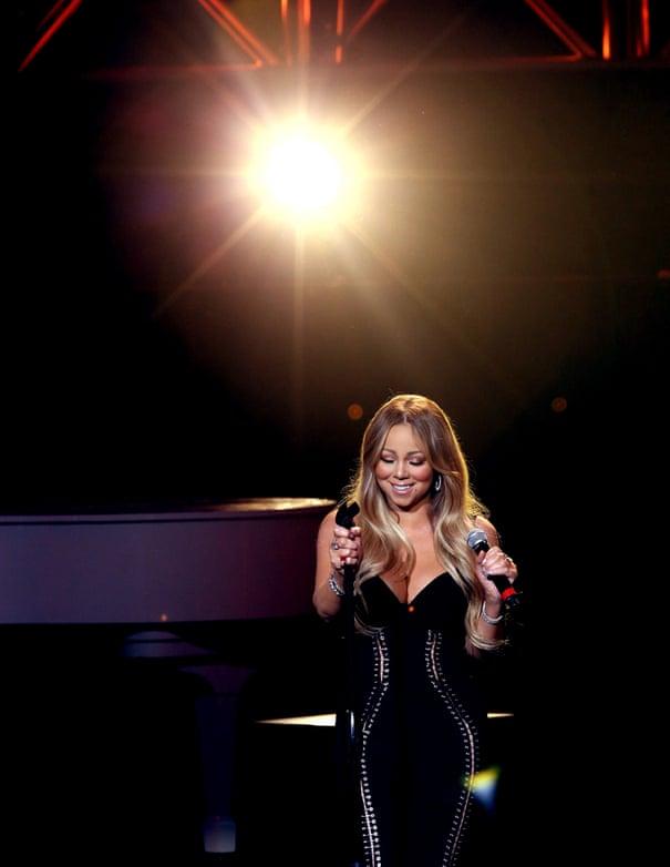 I bathe in milk': Mariah Carey on bossiness, breakups and