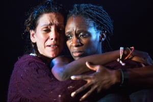 'Twinship of grief': Neve McIntosh, left, and Sharon Duncan-Brewster in Meet Me at Dawn.