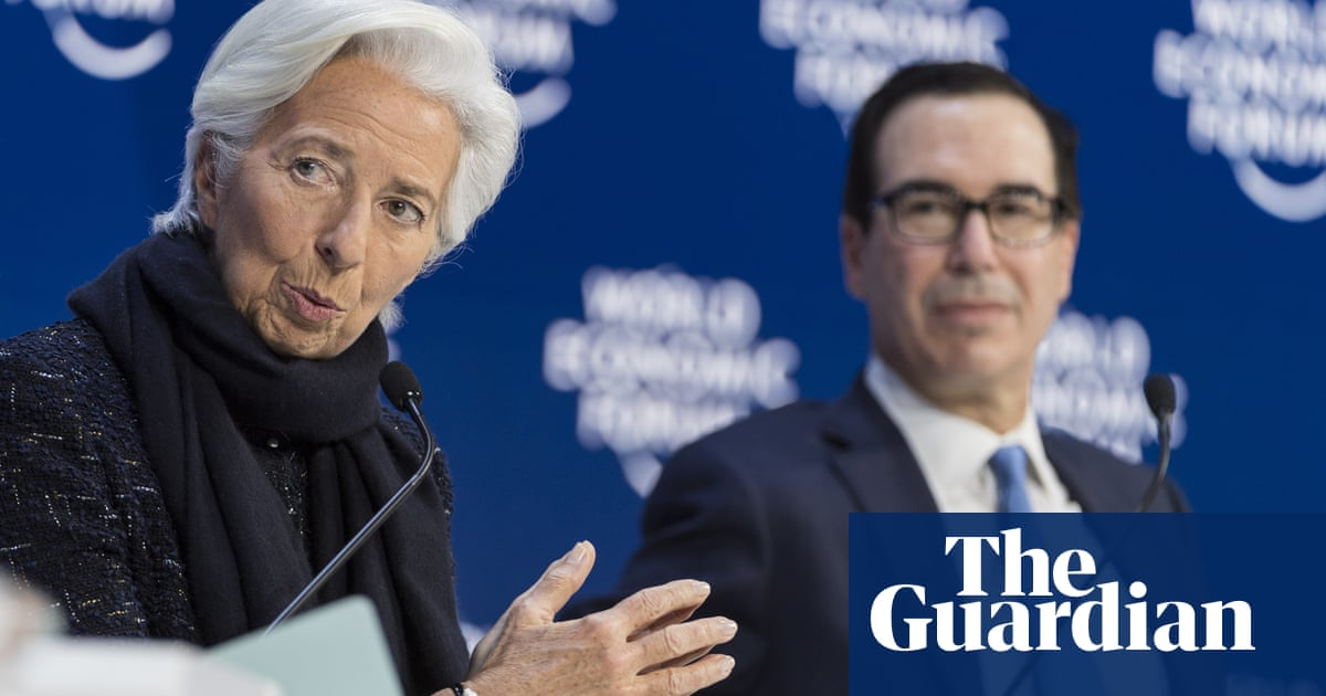US and Europe clash over climate crisis threat on last Davos day
