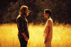 Forest (Nick Offerman) and Lily (Sonaya Mizuno) in Devs