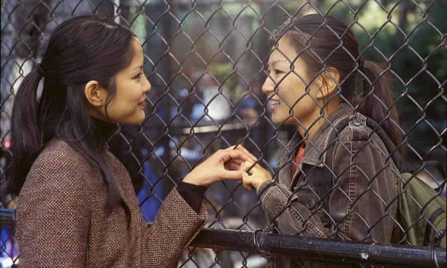 Lynn Chen and Michelle Krusiec in Saving Face