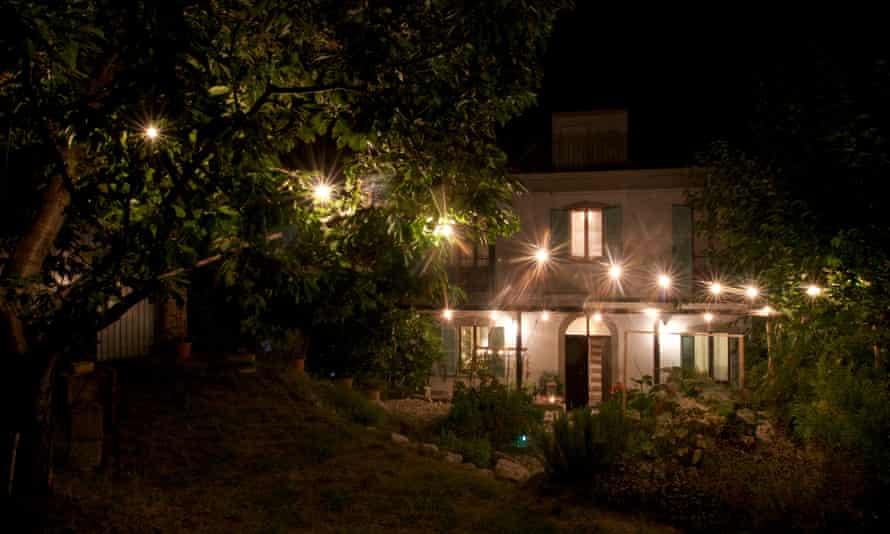 Fern and Jono's farmhouse in Abruzzo.