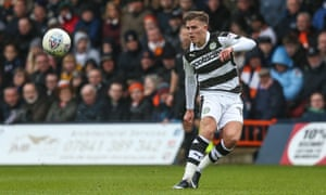 Charlie Cooper of Forest Green Rovers in action