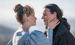 Sophie Rundle and Suranne Jones in the final episode of Gentleman Jack.