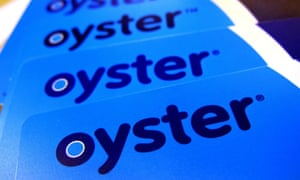Oyster cards have been in use for 15 years.