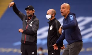 Jürgen Klopp and Pep Guardiola favour pre-practised moves to help break down deep-lying defences.
