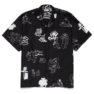 London to the world A couple of seasons in and forward-thinking streetwear label SCRT collaborates with creatives from around the globe. Shirt, £75, scrt.onl