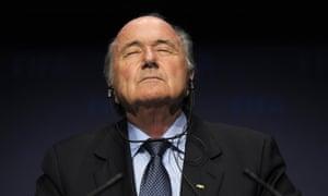 Sepp Blatter, who has resigned as Fifa president