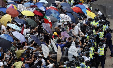 Hong Kong umbrella protests